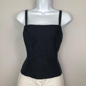 Black & White Corset Top